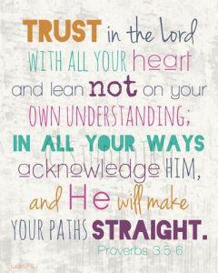 proverbs3:5-6