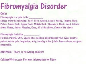 Fibromyalgia Disorder