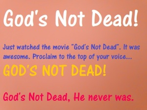 God Is Not Dead