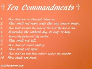 Ten Commandments Meme