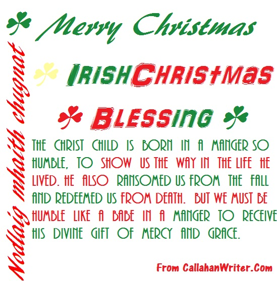 irish christmas quotes or wishes