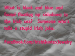 Irish Joke Graphic