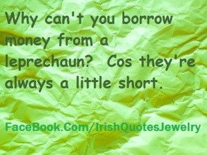 Irish Leprechaun Joke