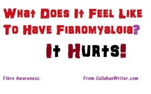 Fibromyalgia Hurts!