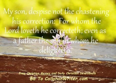 devo_despise_not_chastening