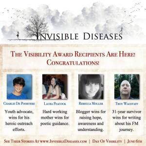 Official 2015 Invisible Diseases Winners