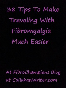 38 travel tips for fibro