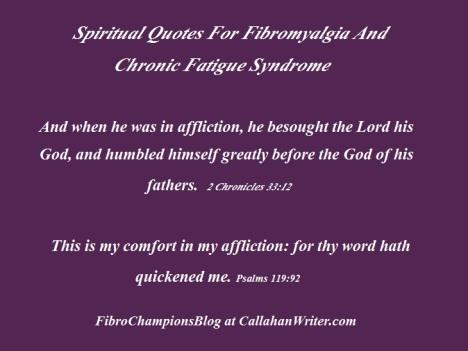 spiritual quotes for fibro