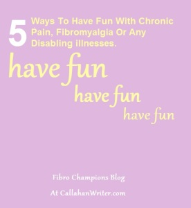 5 ways to have fun